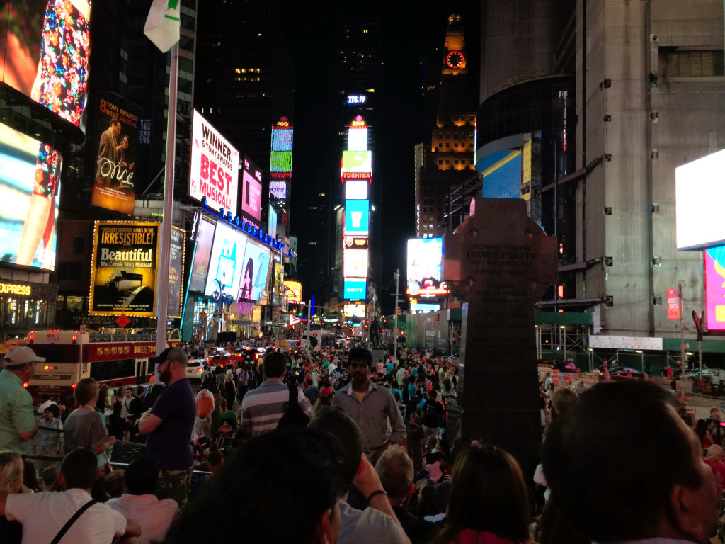 TimesSquare New Year's eve 2015